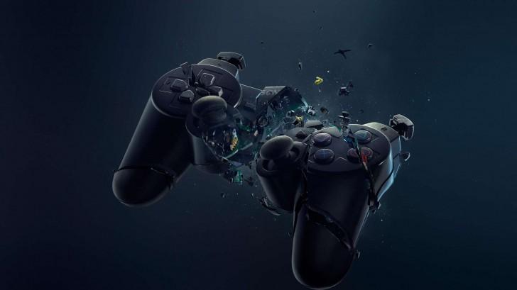 http://www.fullhdwpp.com/videogames/broken-playstation-3-controller/